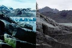 Glaciers then and now wow
